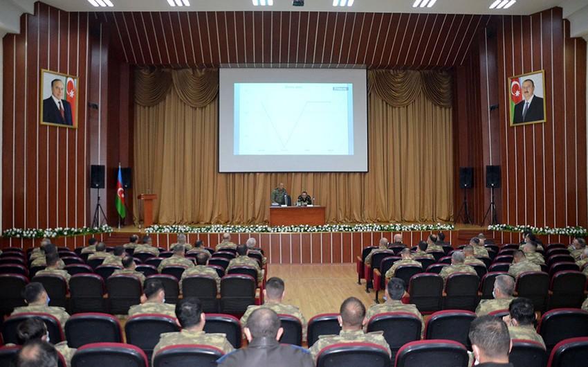 В Центре ВС Азербайджана прошли учебно-методические сборы по идеологической работе