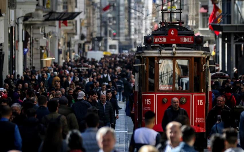 Türkiyə əhalisinin sayı açıqlanıb