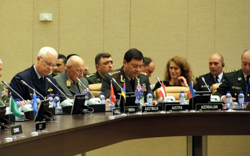 Chief of General Staff of Armed Forces attends meetings at NATO headquarters