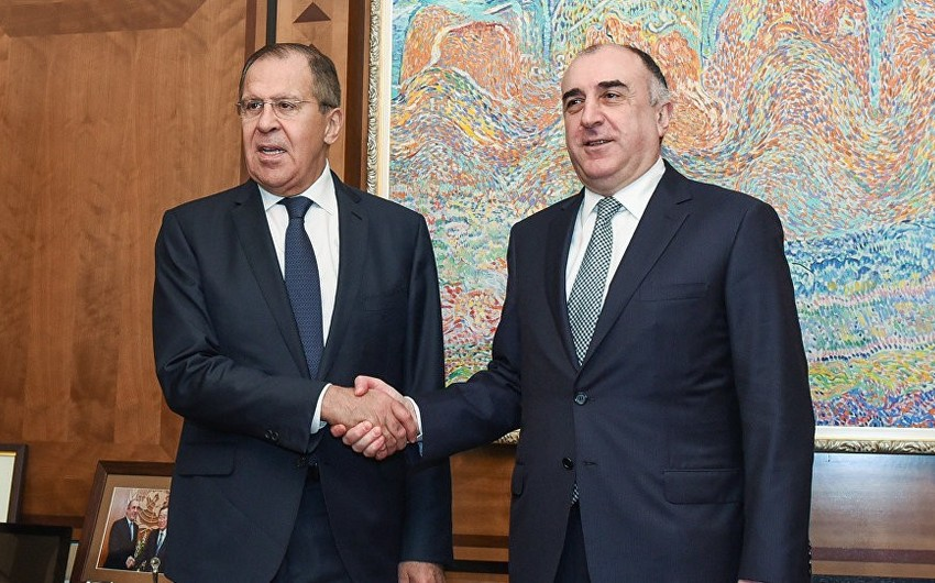 Meeting between Azerbaijani and Russian Foreign Ministers gets underway in Baku