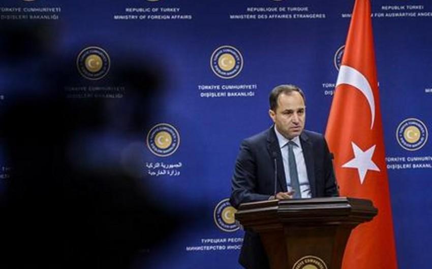 Türkiyə XİN Rusiya KİV-də yayılan məlumatı təkzib edib