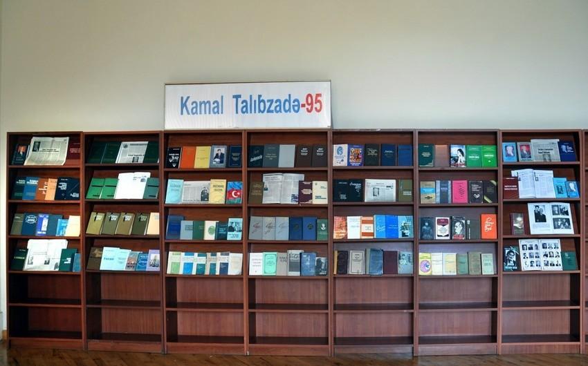 """Bakıda """"Kamal Talıbzadə-95"""" adlı sərgi açılıb"""