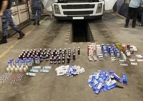 Azerbaijani customs confiscates drugs from Iran to Russia