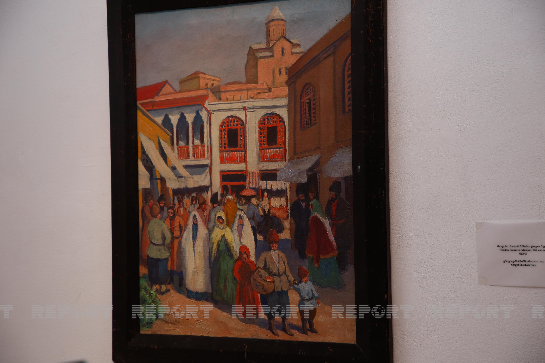 Şeytan bazar, uçurulan Şah Abbas məscidi - Tbilisinin nadir rəsmləri - FOTO