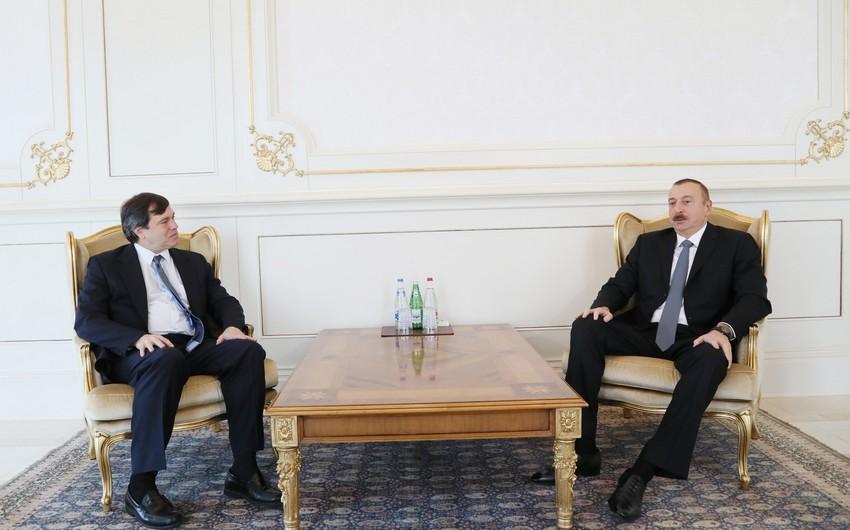 Президент Азербайджана принял нового сопредседателя Минской группы ОБСЕ от США