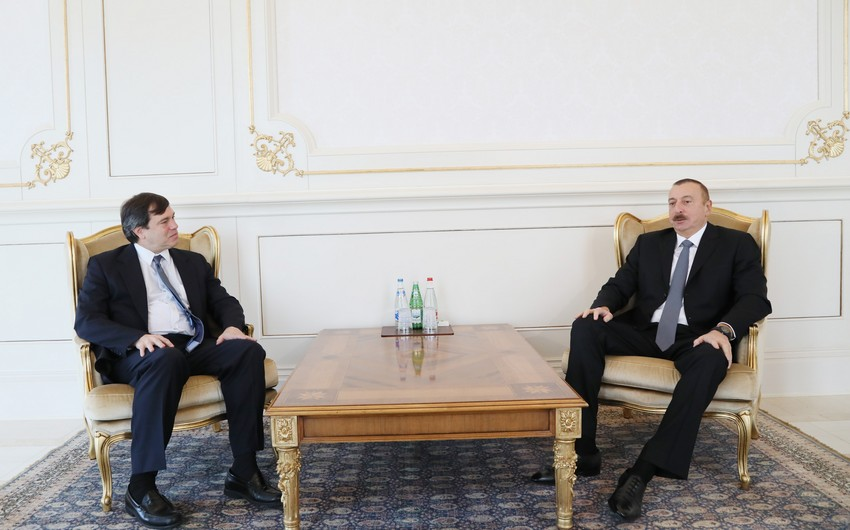 President of Azerbaijan received new U.S. co-chair of OSCE Minsk Group