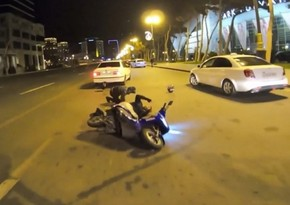 Bakıda qəzaya düşən moped sürücüsü xəstəxanada öldü