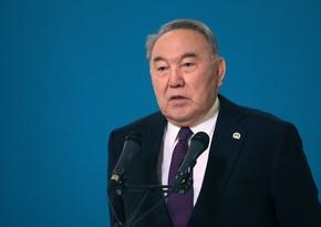 Nazarbayev Qazaxıstan Xalqının Assambleyasının sədri vəzifəsindən istefa verib