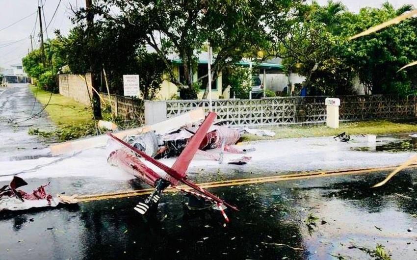 Havay adalarında helikopterin qəzaya uğraması nəticəsində 3 nəfər ölüb - FOTO - VİDEO