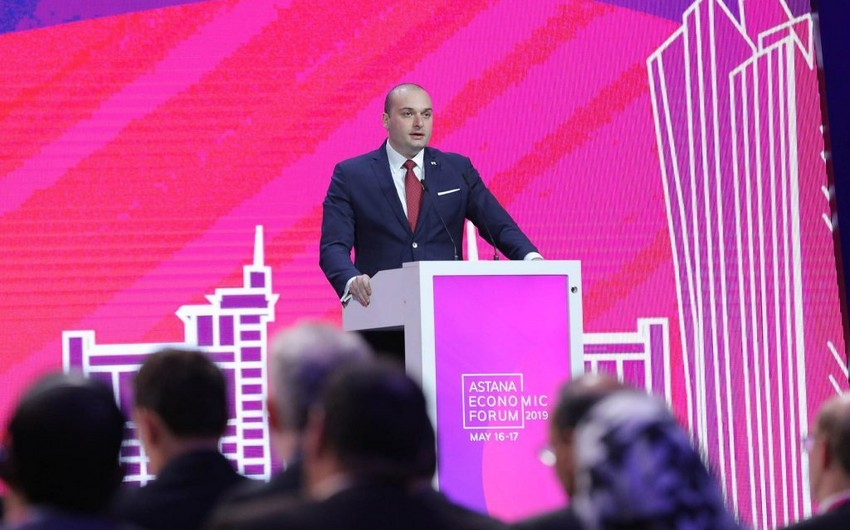 Georgian PM: Trans-Caspian International Transport Route will create great opportunities