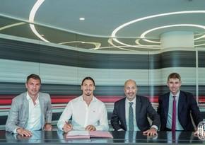 Ибрагимович продлил контракт с Миланом