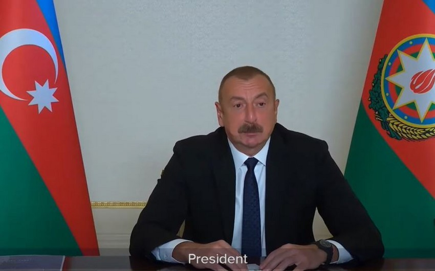 """İlham Əliyev: """"BMT qətnamələrinin icrasında selektiv yanaşmanın qurbanı olmuşuq"""""""