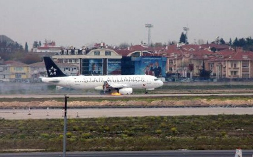 Fire engine cause emergency landing Turkish Airlines' plane - VIDEO