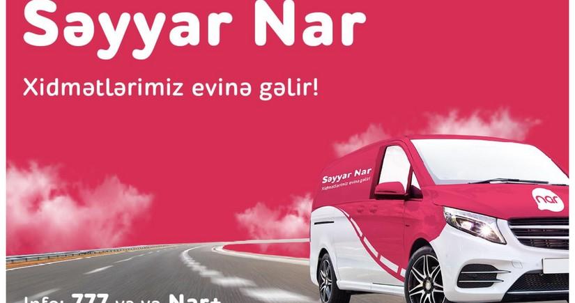 """""""Səyyar Nar"""" xüsusi karantin rejimində həftəsonu fəaliyyətini davam etdirir"""
