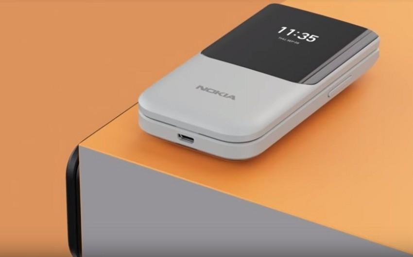 Nokia yeni 2720 Flip modelini təqdim edib - FOTO - VİDEO