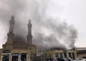 В Баку потушили сильный пожар