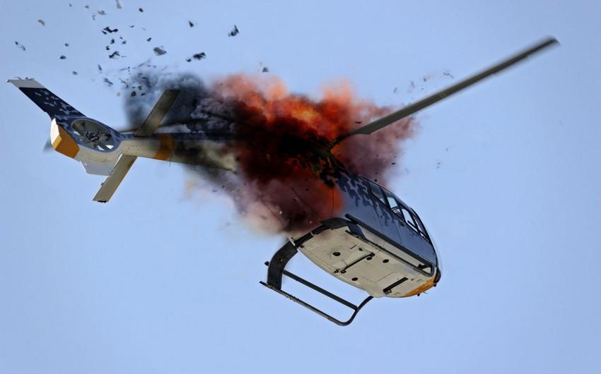 Fransada helikopter qəzası baş verib, ölənlər və xəsarət alan var
