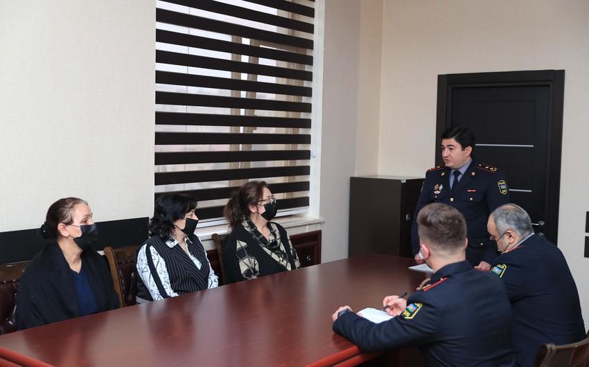 В МВД прошла встреча с членами семей полицейских - шехидов 20 января