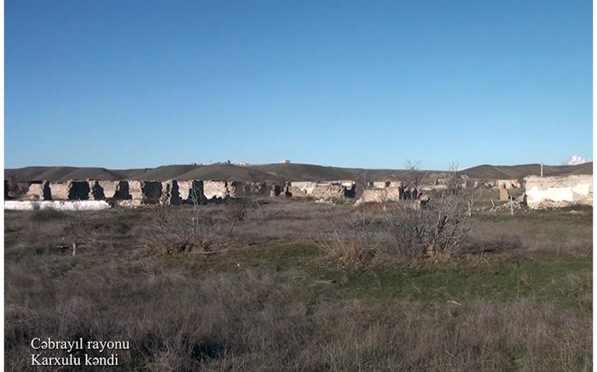 Footage of Karkhulu village of Jabrayil