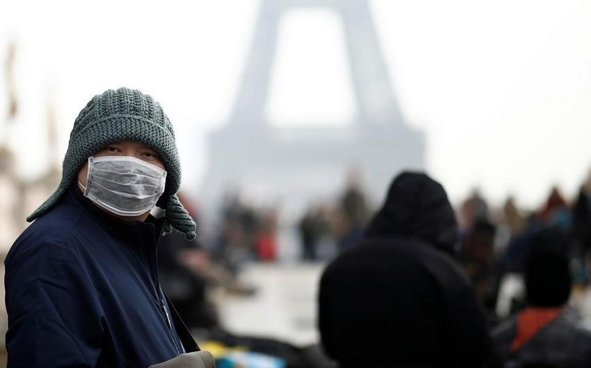 Fransada 7 mindən çox insanda koronavirus aşkarlandı