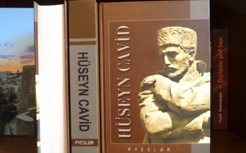 """""""Hüseyn Cavid. Pyeslər"""" kitabı çap olunub"""