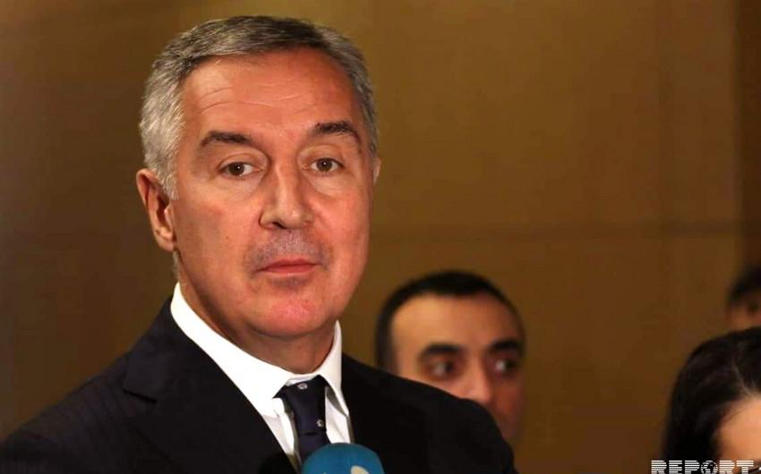 Monteneqro Prezidenti: Azərbaycanla münasibətlərimiz yüksək səviyyədədir