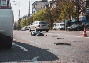 Goranboyda avtomobil 36 yaşlı kişini vuraraq öldürüb