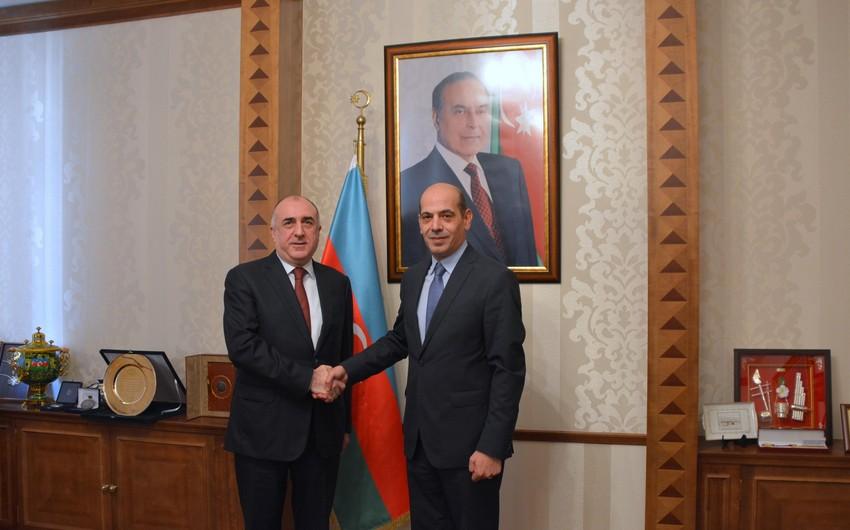 Azerbaijani Foreign Minister receives Jordan's incoming ambassador
