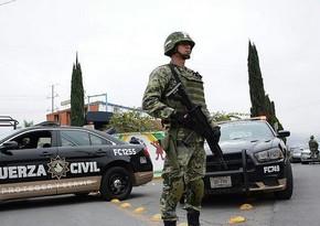 Meksikada atışma, səkkiz nəfər ölüb