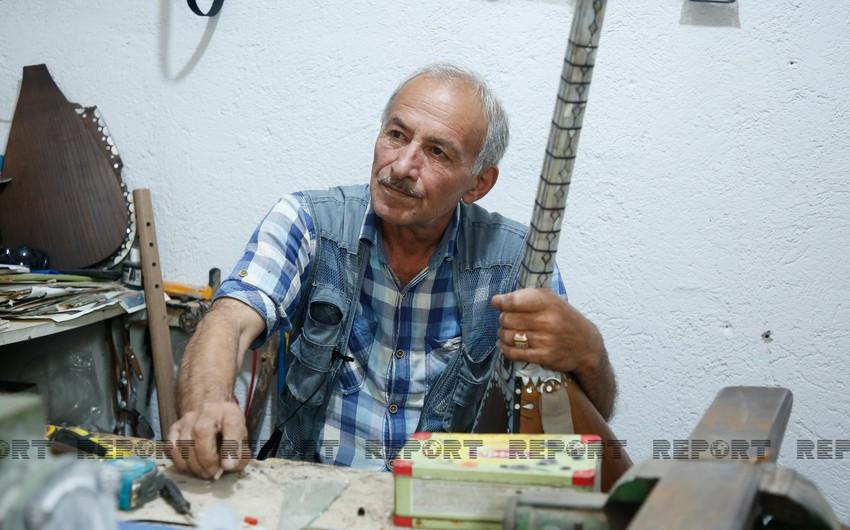 Мастер по изготовлению саза: Никто не проявляет интереса к этому искусству