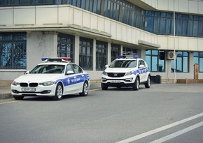 Bakıda YPX avtomobillərinin təhlükəli manevrləri - VİDEO