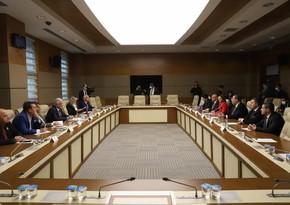 Ankarada Azərbaycan və Türkiyə parlament nümayəndə heyətlərinin görüşü olub