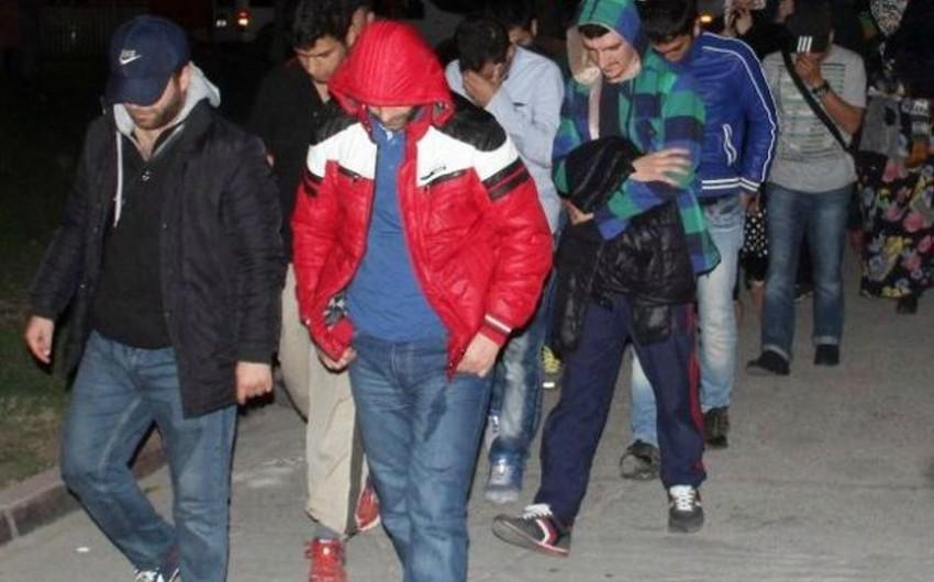 Türkiyədə İŞİD əleyhinə keçirilmiş əməliyyatda aralarında 2 azərbaycanlının da olduğu 25 nəfər saxlanılıb