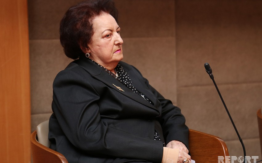 Эльмира Сулейманова встретилась с Гёзаль Байрамлы и Афганом Мухтарлы