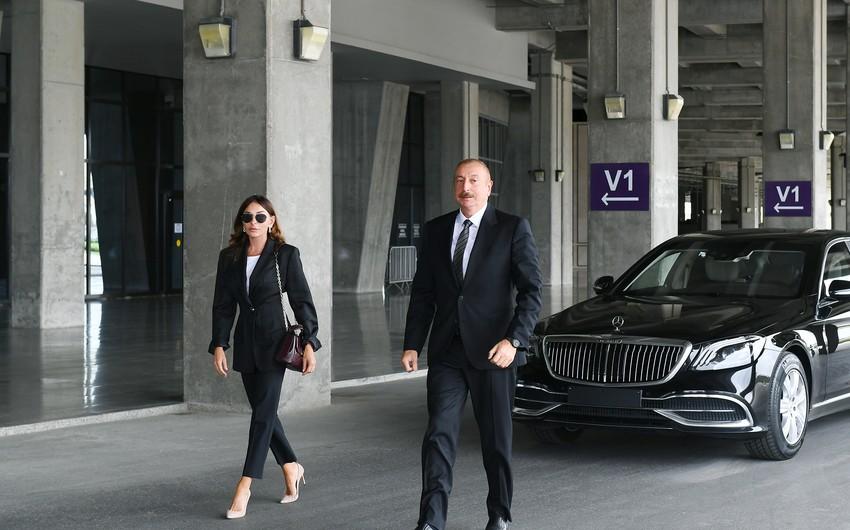 İlham Əliyev və Mehriban Əliyeva Abşeronda -