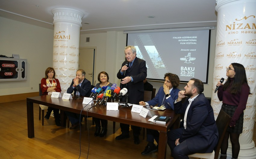 First Italy-Azerbaijan film festival kicks off in Baku