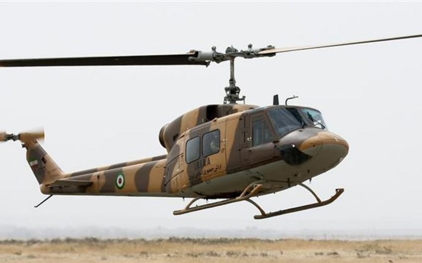 İranda hərbi helikopter qəzaya uğrayıb: 1 nəfər ölüb, 2 nəfər yaralanıb