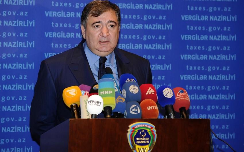 """Vergilər naziri: """"Azərbaycan vergilərin ödənilməsi meyarına görə 40-cı yerdədir"""""""