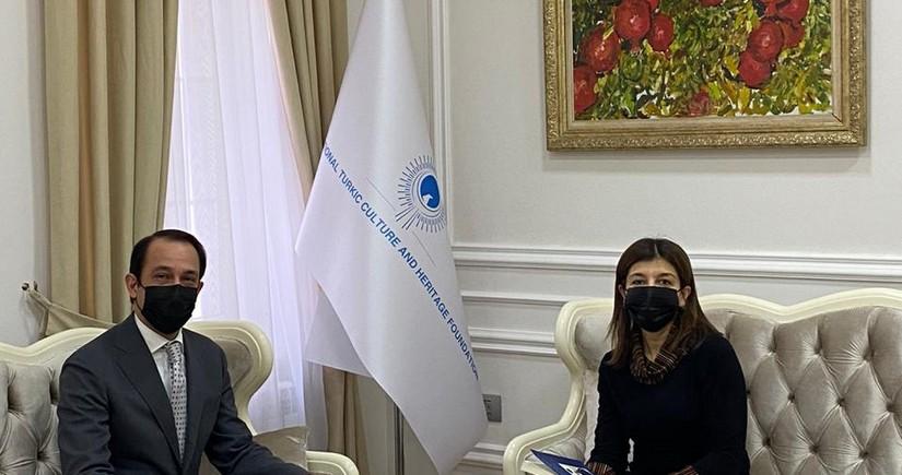 Фонд Тюркской Культуры и Наследия расширяет свои международные связи
