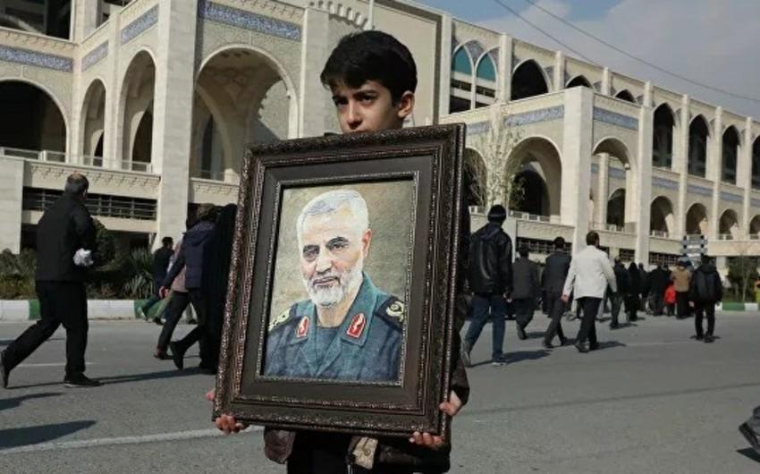 İranın XİN rəhbəri Süleymaninin öldürülməsini terror aktı adlandırıb