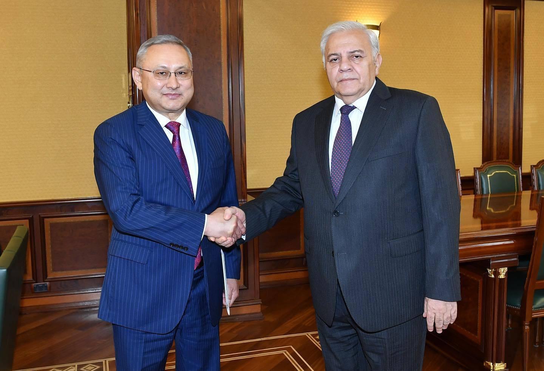 Казахстан и Азербайджан обсудили вопрос развития связей межпарламентских групп дружбы
