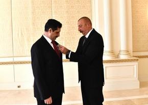 """Erkan Özoral""""Dostluq"""" ordeni ilə təltif edilib"""