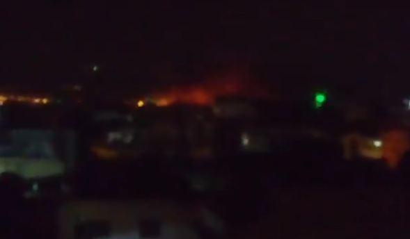 İsrail Suriyada aviabazaya raket zərbələri endirib - YENİLƏNİB
