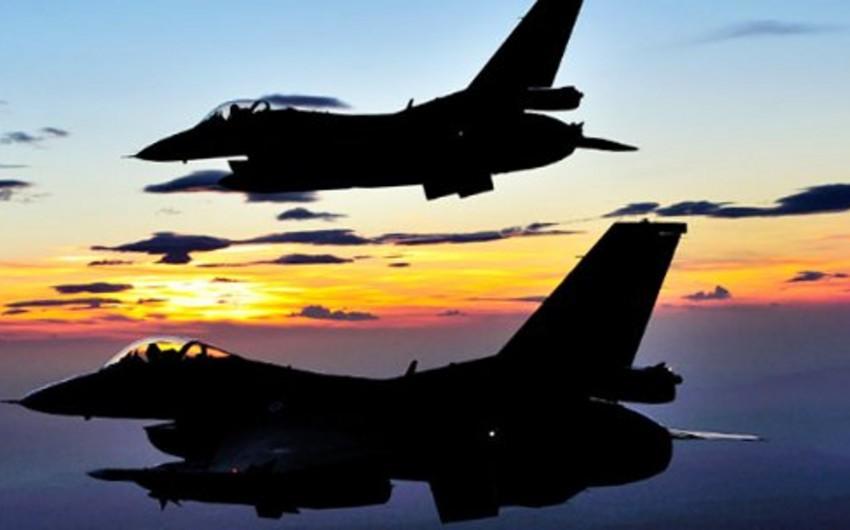 Türkiyə qırıcıları terrorçuların İraqdakı mövqelərini bombalayıb
