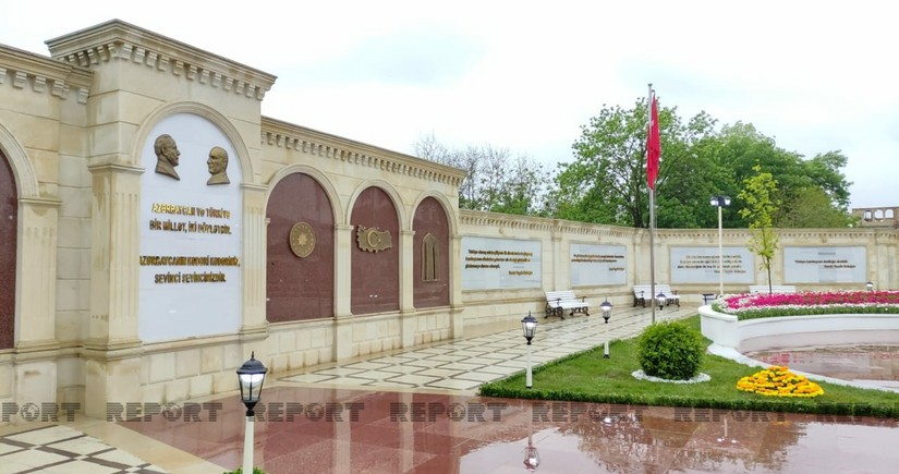 Turkish-Azerbaijani friendship park opened in Guba