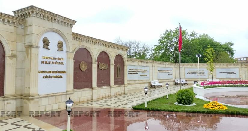 В Губе открылся парк турецко-азербайджанской дружбы