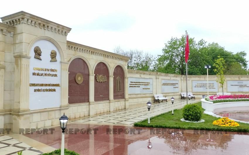 Qubada Türkiyə-Azərbaycan dostluq parkının açılışı olub