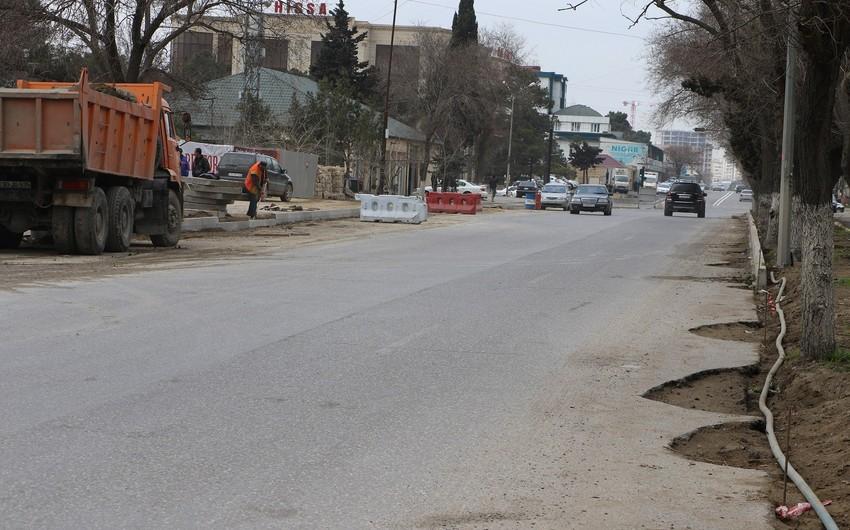 Nizami rayonunda nəqliyyatın hərəkəti müvəqqəti məhdudlaşdırılacaq
