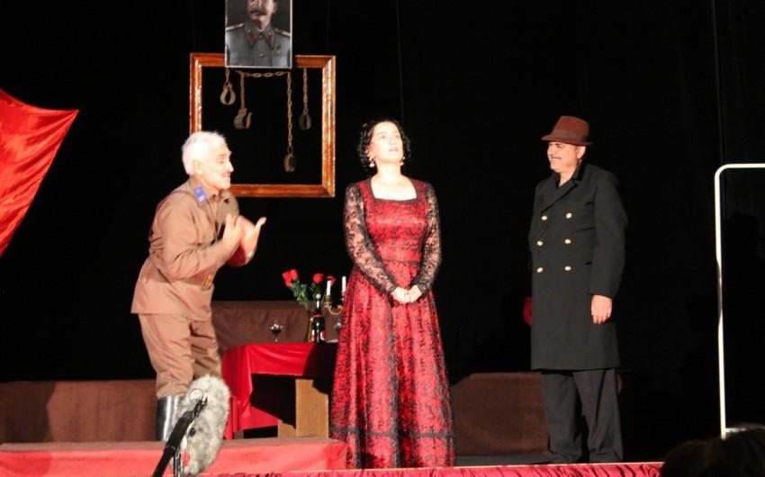 Lənkəran Dövlət Dram Teatrında yeni tamaşanın premyerası keçirilib
