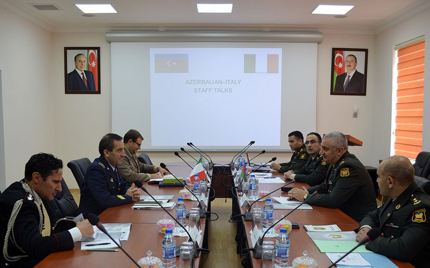 Ministries of Defense of Azerbaijan and Italy held Staff Talks